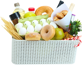 food pantry basket